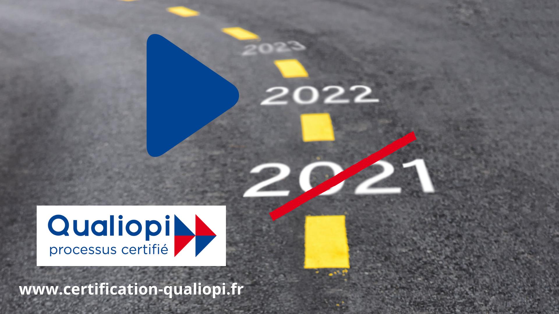 report qualiopi 1er janvier 2022