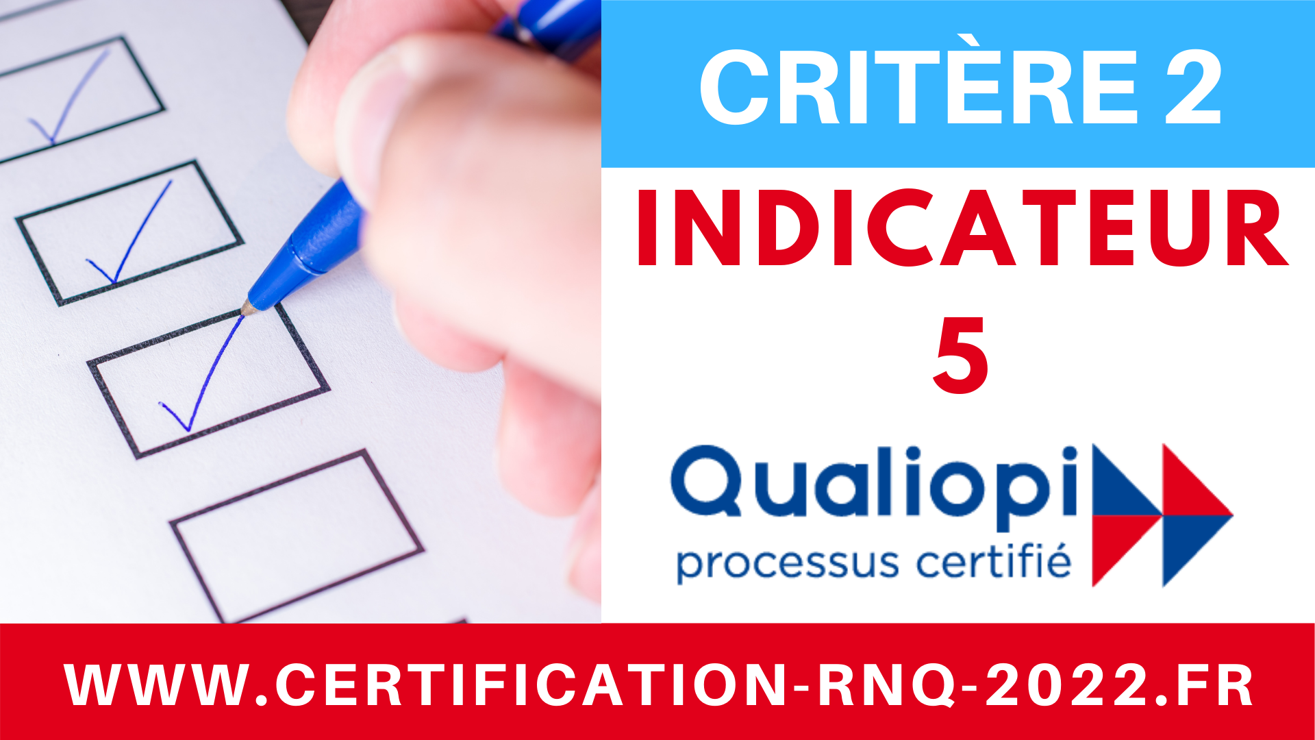 Miniature Critère 2 - 32 indicateurs QUALIOPI